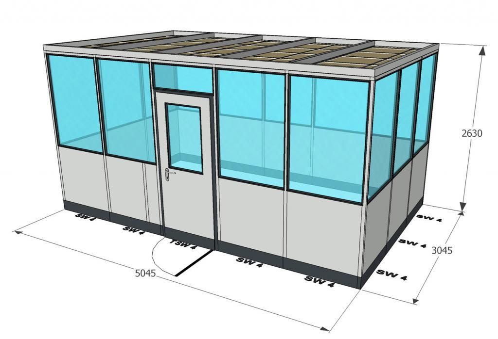 system metallica 45 3x5m b ckeburger raumsysteme. Black Bedroom Furniture Sets. Home Design Ideas